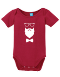 Glasses Beard Bow Hipster