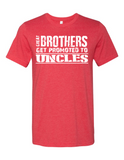 Great Brothers Get Promoted LL 3001  Crewneck T-Shirt