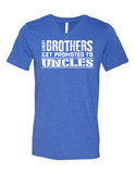 Great Brothers Get Promoted LL 3005  V-Neck T-shirt