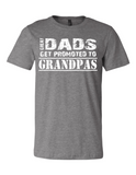 Great Dads Get Promoted LL 3001  Crewneck T-Shirt
