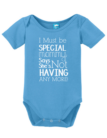 I Must Be Special