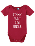 I heart my Aunt and Uncle Onesie