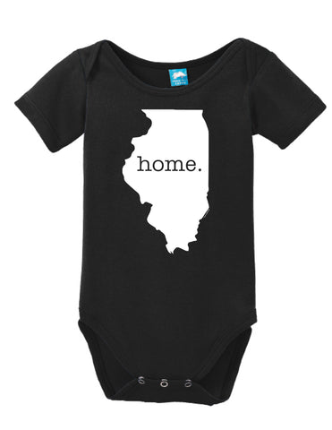 Illinois Home Onesie
