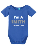 Im A Smith Onesie
