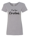 I'm Her Lorelei Women's Crewneck T-Shirt