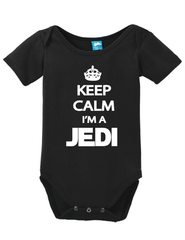 Keep Calm Im A Jedi Onesie