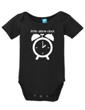 Little Alarm Clock Onesie
