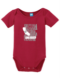 Long Beach California Onesie