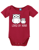 Loved By Nana Onesie