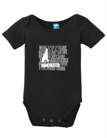 Machester New Hampshire Onesie