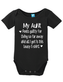 My Aunt Feels Guilty Onesie
