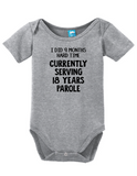 Nine Months On The Inside Onesie