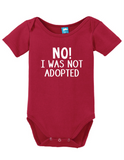 No, I Was Not Adopted