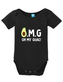 OMG on my Guac Onesie
