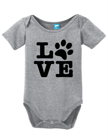 Pet Love Paw Print