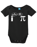 Pi Be Rational Onesie Funny Bodysuit Baby Romper