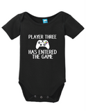 Player three has entered the game Onesie