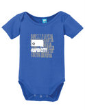 Rapid City South Dakota Onesie