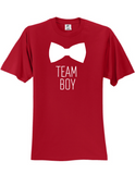 Team Boy Bowtie Gender Reveal Unisex T-Shirt