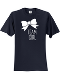 Team Girl Bow Gender Reveal 3930 T-Shirt