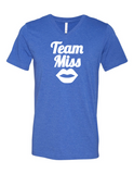 Team Miss Gender Reveal 3005 Premium V-Neck T-shirt