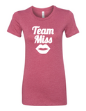 Team Miss Gender Reveal 6004 Women's Crewneck T-Shirt