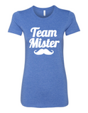 Team Mister Gender Reveal 6004 Women's Crewneck T-Shirt