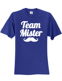 Team Mister Gender Reveal 3930 T-Shirt