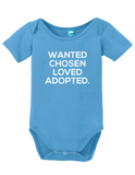Wanted, Chosen, Loved, Adopted