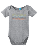Wilmington North Carolina Retro Onesie Funny Bodysuit Baby Romper