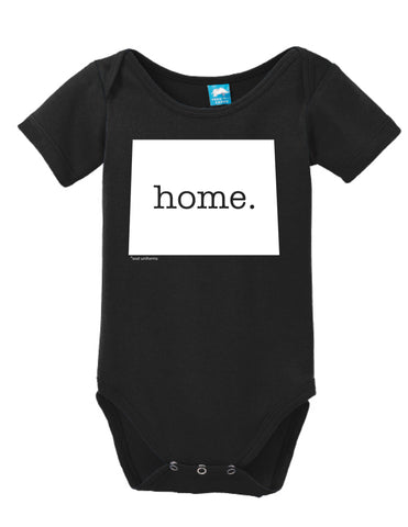 Wyoming Home Onesie