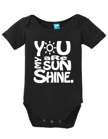 You Are My Sunshine Onesie
