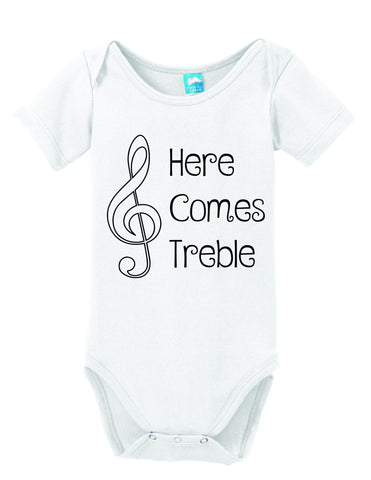 Here Comes Treble Onesie