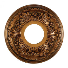 ELK Lighting M1000AB Acanthus 11-Inch Medallion In Antique Bronze Finish