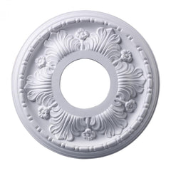 ELK Lighting M1000WH Acanthus 11-Inch Medallion In White Finish