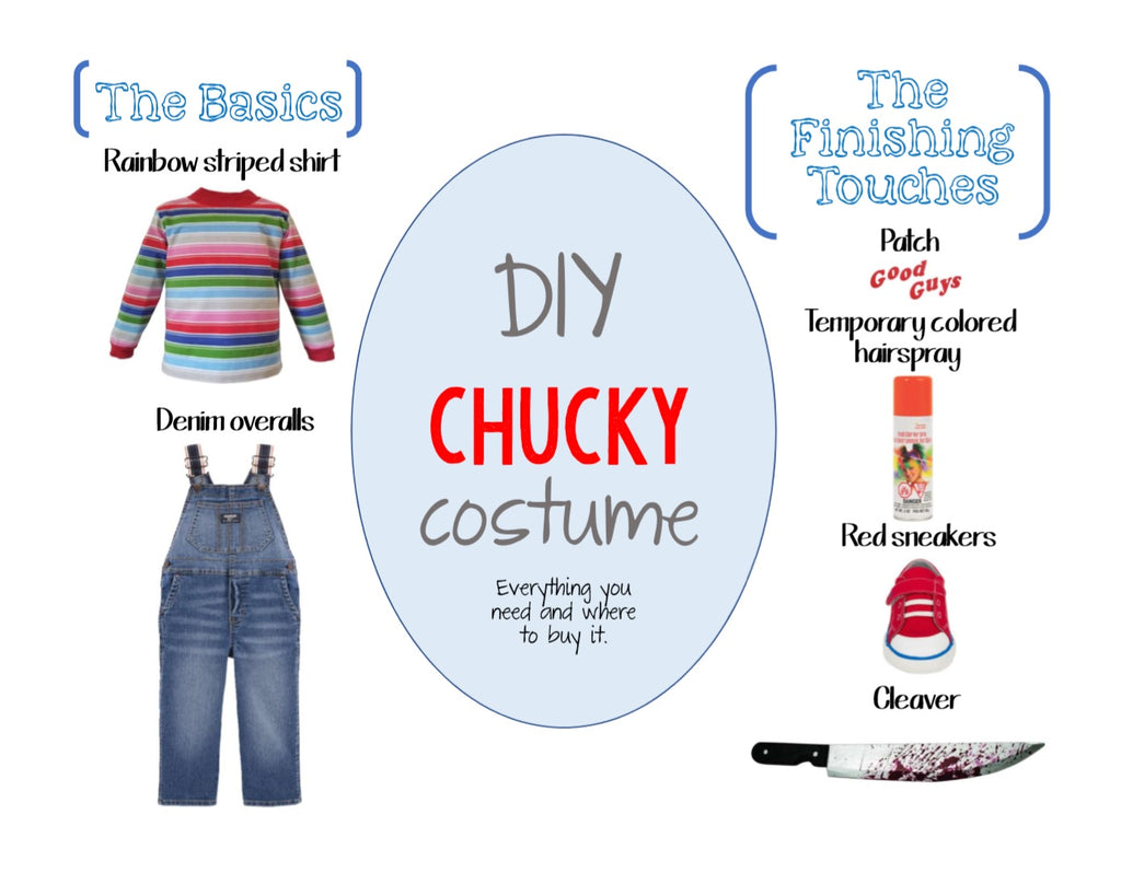 DIY Chucky Halloween Costume for All Ages - Where and What to Buy