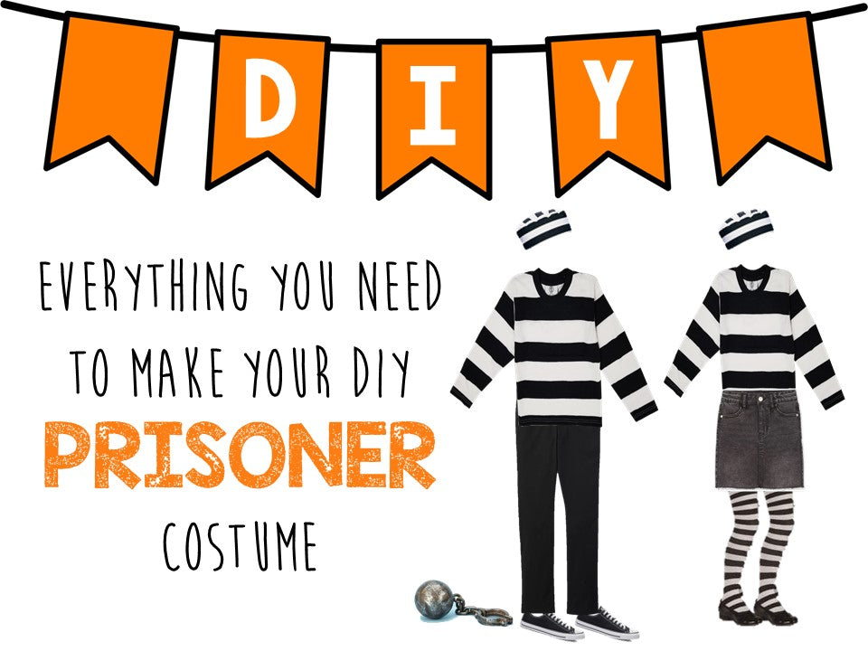 The Ultimate DIY Prisoner Costume for All Ages - What and Where to Buy