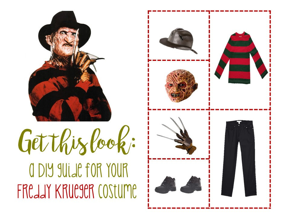 The Ultimate DIY Freddy Krueger Halloween Costume for All Ages - Where and What to Buy