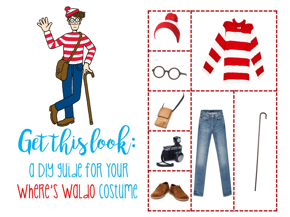 The Ultimate DIY Waldo and Wenda Halloween Costumes for All Ages - Where and What to Buy