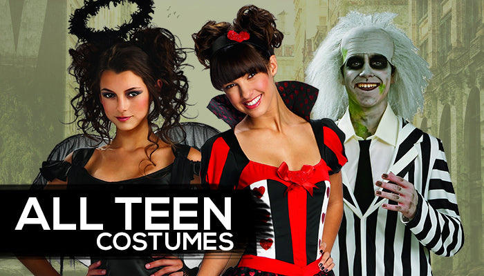 Teen Costumes  sc 1 st  Halloween Costumes 4U & Teen Costumes - Halloween Costumes 4U - Halloween Costumes for Kids ...