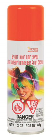 Orange Chucky Hairspray from HalloweenCostumes4U.com