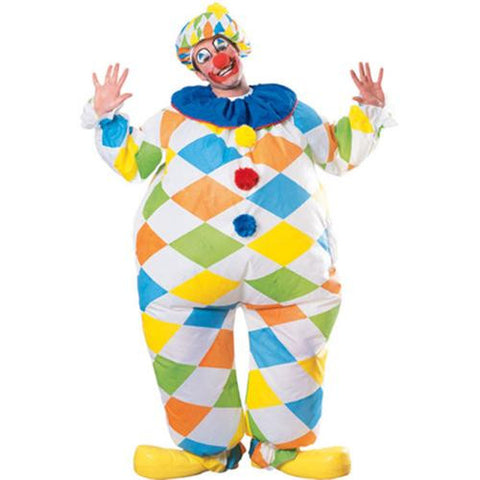 Adults Inflatable Clown Costume