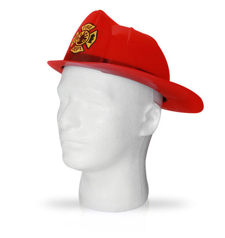 Fire Fighter Helmet - Black or Red - HalloweenCostumes4U.com - Accessories - 1