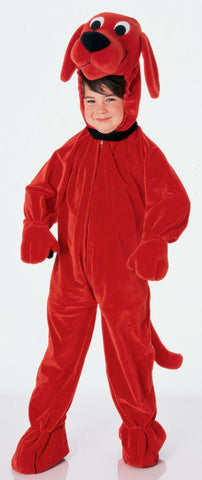Boys Clifford the Big Red Dog Costume