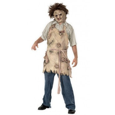 Mens Texas Chainsaw Massacre Leatherface Apron - HalloweenCostumes4U.com - Adult Costumes