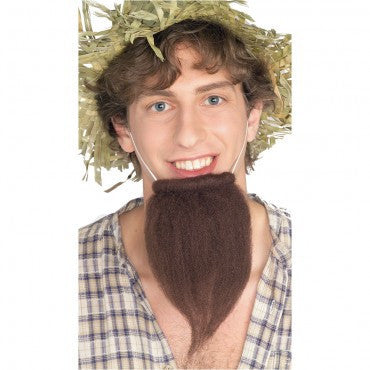 Brown Pointy Farmers Beard - HalloweenCostumes4U.com - Accessories