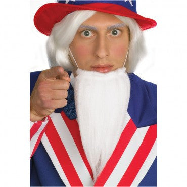 Farmers/Uncle Sam Beard - HalloweenCostumes4U.com - Accessories