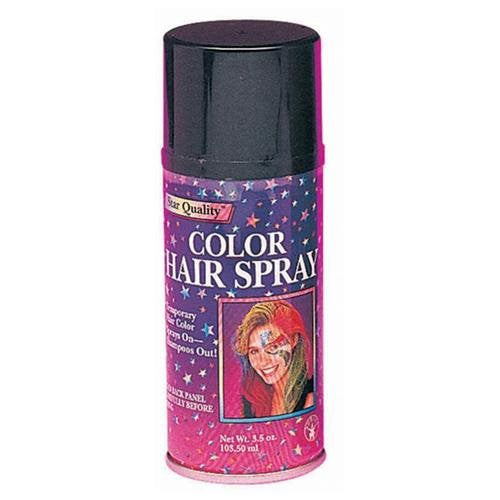 Flourescent Colored Hair Spray - Various Colors - HalloweenCostumes4U.com - Accessories - 2