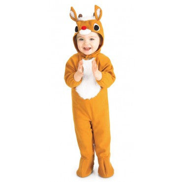 Infants/Toddlers Reindeer Costume - HalloweenCostumes4U.com - Infant & Toddler Costumes