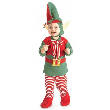 Infants/Toddlers Elf Costume - HalloweenCostumes4U.com - Infant & Toddler Costumes